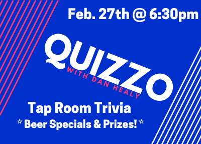 QUIZZO with Dan Healy
